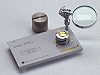 16196B Parallel Electrode SMD Test Fixture, DC to 3 GHz