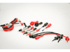 U1168A Standard Test Lead Kit (with 19-mm and 4-mm probe tips)