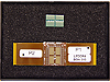 W6601A BGA Interposer, LPDDR4 200-ball, 2-wing for Logic Analyzer, Connects to 61-pin ZIF