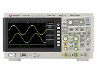 DSOX1102A Oscilloscope: 70/100 MHz, 2 Analog Channels