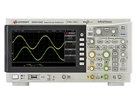 DSOX1102G Oscilloscope: 70/100 MHz, 2 Analog Channels