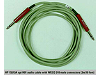 15513A Opt H01 Audio cable with WECO 310 Male Connectors (3m/10 feet) [Obsolete]