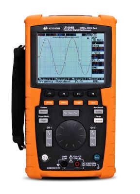 U1604B Handheld Oscilloscopes, 40 MHz, 2 Analog Channels