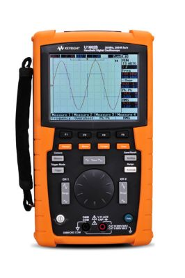 U1602B Handheld Oscilloscopes, 20 MHz, 2 Analog Channels
