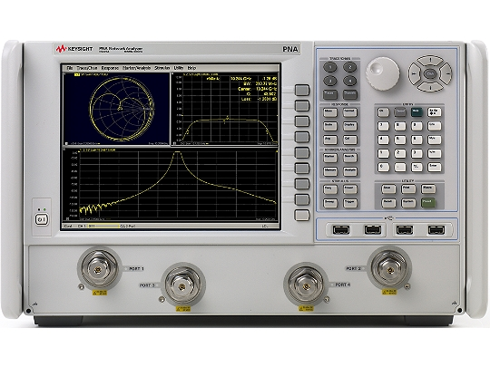 Keysight Network Analyzer : N a pna microwave network analyzer ghz keysight