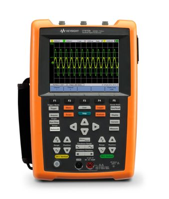 U1610A Handheld Oscilloscopes, 100 MHz, 2 Analog Channels