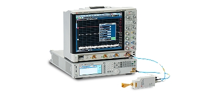 E-band signal analysis solution with harmonic mixer