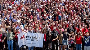 Support Keysight employee relief fund