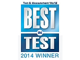 Награда Best in Test за 2014 год