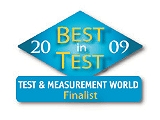 2009 Test & Measurement World Best in Test Award, Finalist