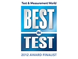 2012 Test & Measurement World Best in Test Award, Finalist