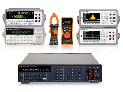 4 to 8½ digit DMMs and ranging from benchtop to handheld multimeters