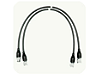Test Port Cables, Type-N, 75 Ohms