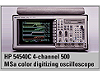 54540C 4 Channel 500 MSa Color Digitizing Oscilloscope (Obsolete) [Désuet]