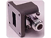 X281A Waveguide to Type-N (f) Adapter, X-Band, 12.4 GHz