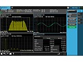 N9063C Analog Demodulation Measurement Application, Multi-touch UI
