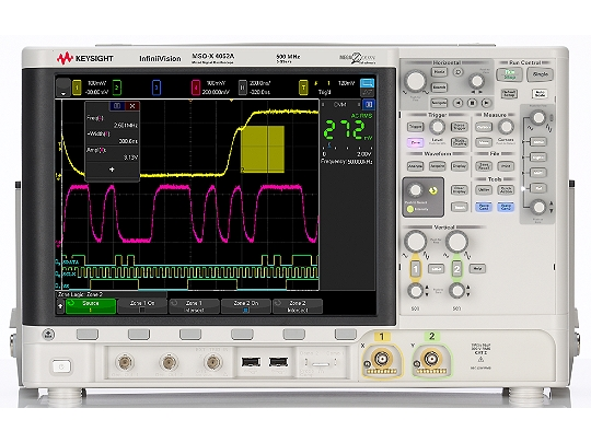 Keysight MSOX4052A Oscilloscope Windows 8 X64