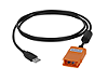IR-USB cable, all U1700 series handheld capacitance and LCR meter