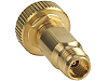 Y1902B Adapter, 1.0 mm ruggedized (f) to 2.4 mm (f), DC to 50 GHz