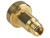 Y1903B Adapter, 1.0 mm ruggedized (f) to 2.92 mm (f), DC to 40 GHz