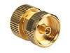 Y1900D Adapter, ruggedized 1.0 mm (f) to ruggedized 1.0 mm (f), DC to 120 GHz