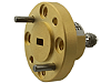W281CS In-line coaxial-to-waveguide adapter, 1.0 mm (f) to WR-10, 75 GHz to 110 GHz