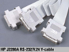 J2280A RS-232/V.24 Y-Cable [販売・サポート終了製品]