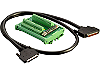 Terminal board with SCSI-II 68pin connector with 2 meter cable, VOLT: DC 12V