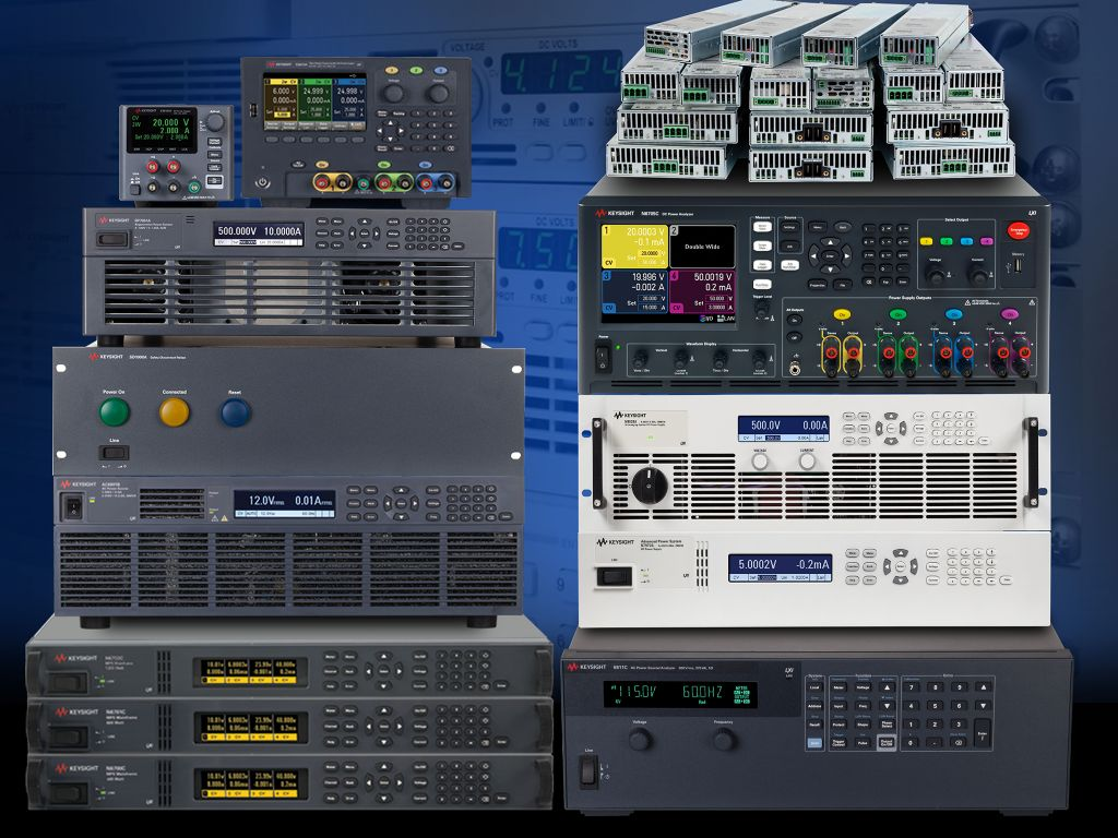 Power Supplies And Electronic Loads Keysight Formerly Agilents Good Measurements Start With Technologies Offers Dc Ac Source Analyzers Extensive