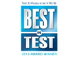 Награда Best in Test журнала Test & Measurement World